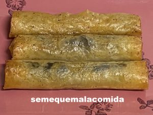 Receta Cigarros de matachana