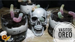 Receta Vasitos de Oreo para Halloween con Thermomix ®