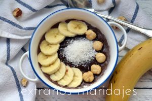 Receta Porridge de trigo con chocolate