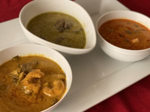 Receta Curries de Tailandia....Curry Rojo, Verde y Amarillo
