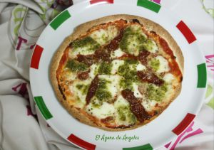 Receta Pizza con tortillas de trigo