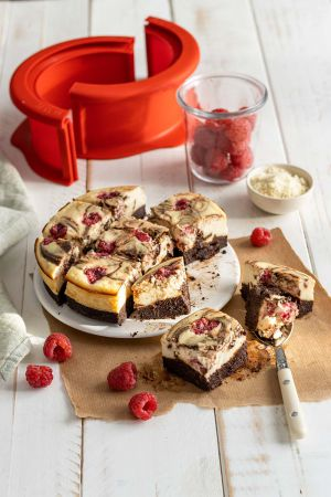 Receta De brownie cheesecake